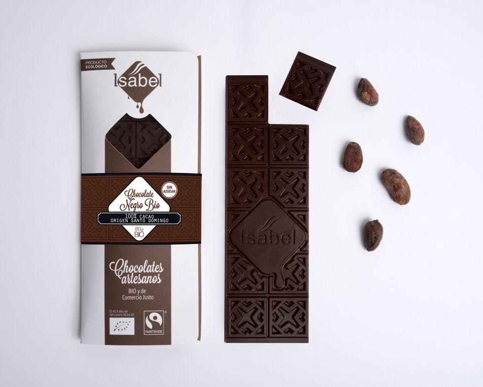 Tableta 100% cacao. SIN AZÚCAR