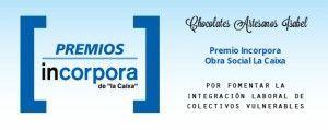 Premio Incorpora Obra Social La Caixa