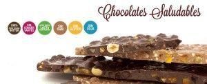 Chocolate saludable, sin gluten, sin soja