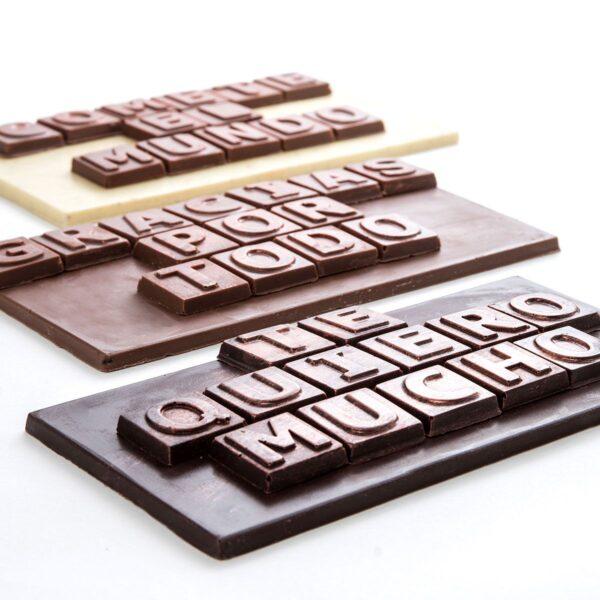 CHOCOMENSAJE chocolate BIO y ecológico