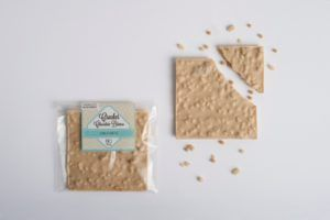 Cracker Chocolate Blanco Crujiente BIO y ECO