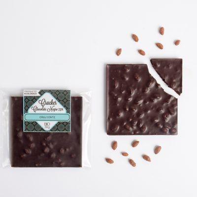Chocolatina ecológica crujiente