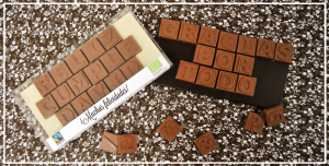 Chocomensaje Mensaje de Chocolate personalizado
