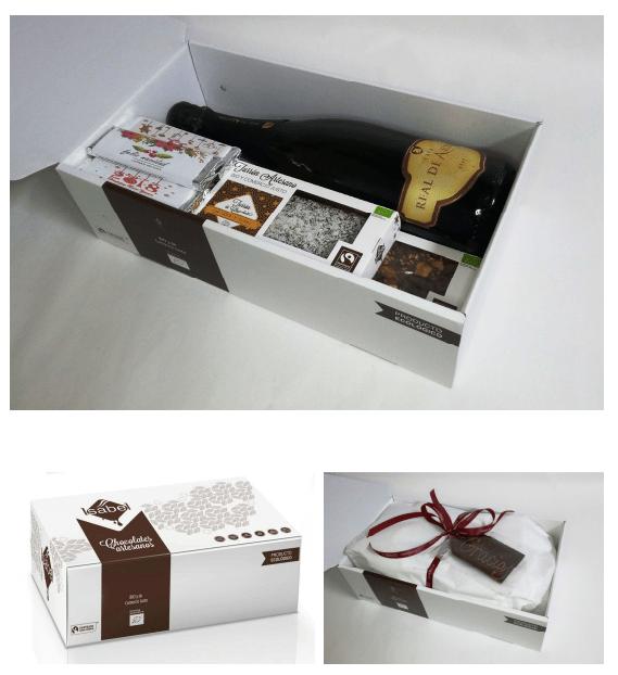 Regalo chocolate navidad