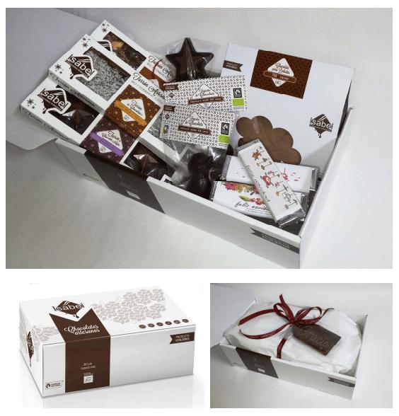 Chocolate ecológico para regalar