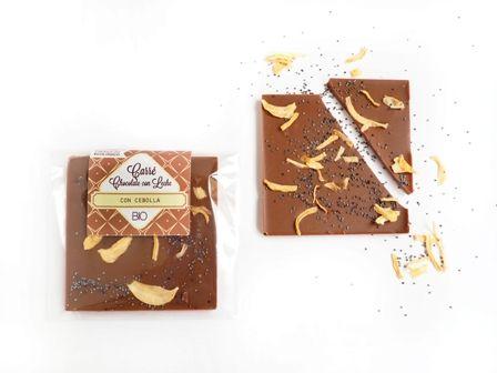 Carré Chocolate con Leche y Cebolla ECO y BIO