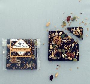 Chocolates Artesanos Isabel, Carré chocolate negro