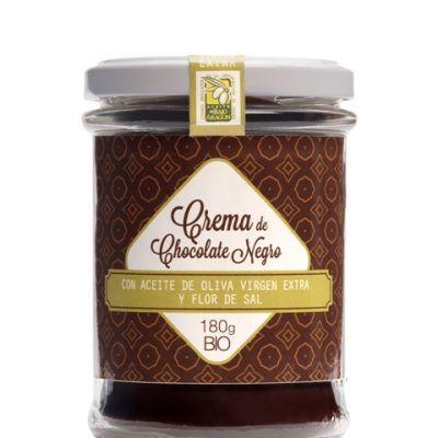 Crema de chocolate BIO con Aceite de Oliva Virgen Extra y Flor de Sal