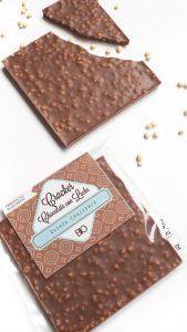 Cracker Chocolate Con Leche Crujiente BIO y ECO