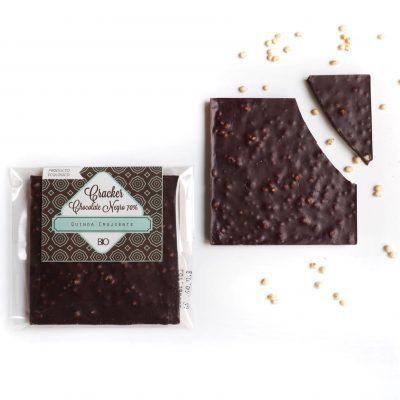 Cracker Chocolate Negro Crujiente BIO y ECO