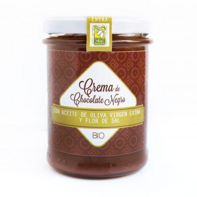 Crema Chocolate Negro con AOVE y Flor de Sal