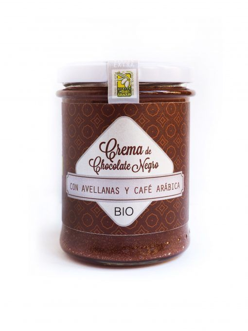 Crema Chocolate Negro con Avellanas y Café, ECO BIO