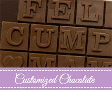 Customized Chocolate