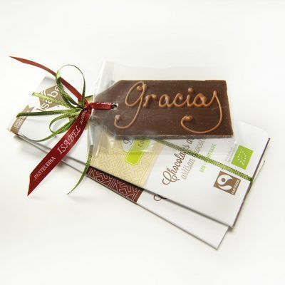 Regalar chocolate orgánico