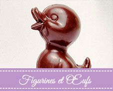 Figurines et œufs Chocolates Artesanos Isabel