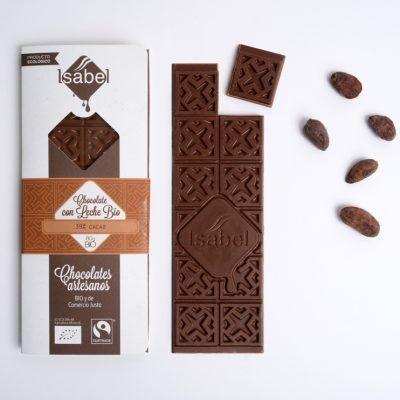 Tableta Chocolate con leche, 39 por ciento de cacao