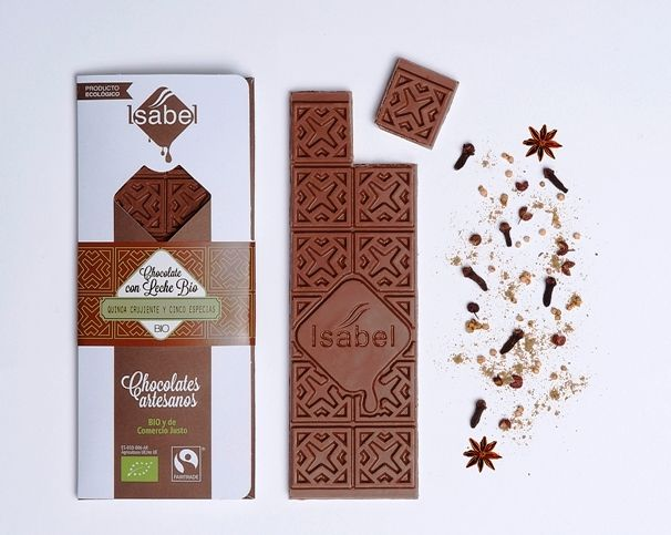 Chocolate Ecológico Gourmet con Quinoa