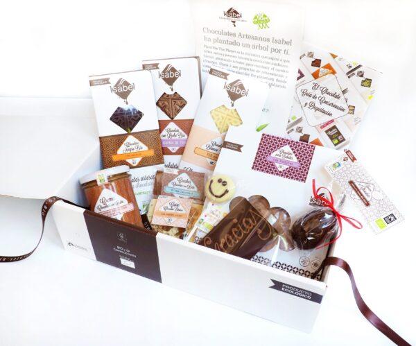 Lote Regalo nº 3, Chocolates Variados BIO
