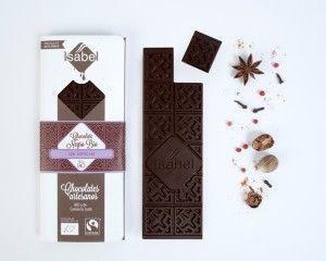 Chocolate Negro con Especias