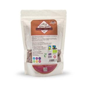 grue de cacao ecológico orgánico