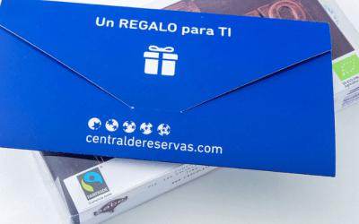 Nuestros chocolates en el Cheque Regalo de Centraldereservas.com