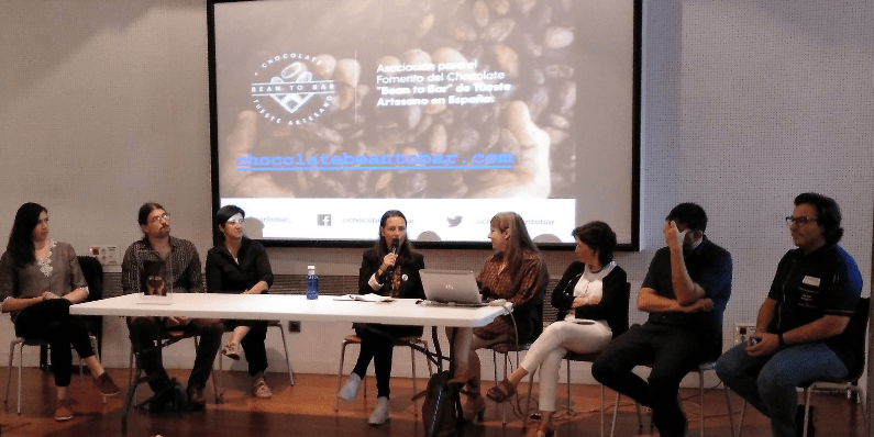 mesa redonda chocolate bean to bar en españa