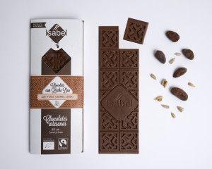 Chocolate con leche con Pipas Caramelizadas