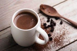 Receta vegana chocolate a la taza. Sin gluten. Chocolates Artesanos Isabel