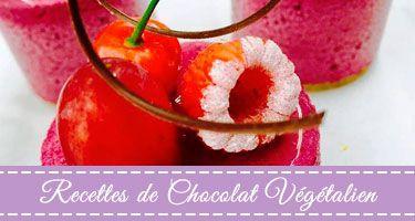 Recettes De Chocolat Végétalien