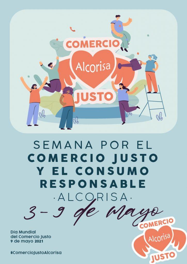 cartel semana por el comercio justo en alcorisa
