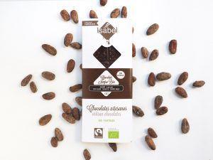 Tableta 100% Cacao Santo Domingo- BIO y Ecológica