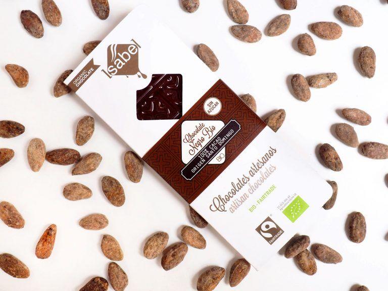 Tableta 100% Cacao Santo Domingo- BIO y Ecológica 4