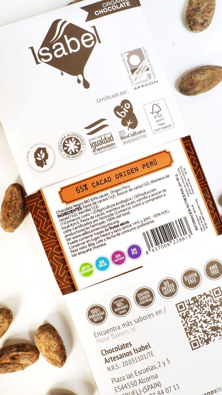 Tableta 65% Cacao de Perú -Bio Ecológica 3