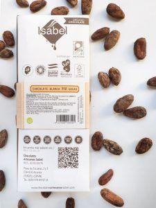 Tableta Chocolate Blanco 35% BIO y Ecológica 2