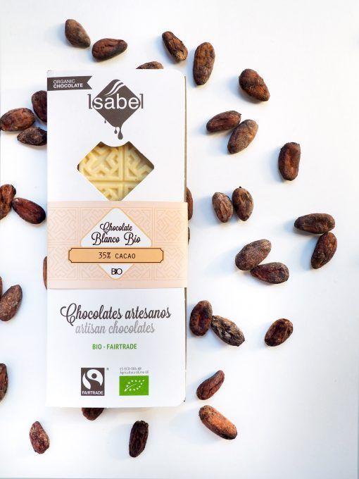 Tableta Chocolate Blanco 35% BIO y Ecológica 3