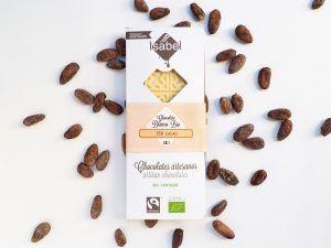 Tableta Chocolate Blanco 35% BIO y Ecológica