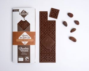 Tableta Chocolate con Leche 39% Cacao - BIO y ECO 2