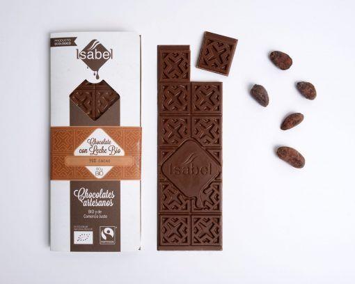 Tableta Chocolate con Leche 39% Cacao - BIO y ECO 2