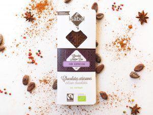 Tableta de Chocolate BIO Negro con Especias - FAIRTRADE