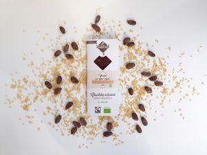 Tableta de Chocolate Con Leche de Arroz -Leche Vegetal- BIO y ECO