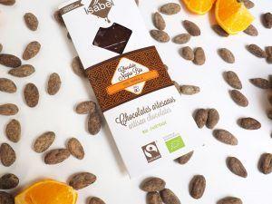 Tableta de Chocolate Negro con Naranaja -BIO y ECO 3