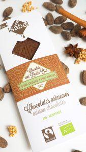 Tableta de Chocolate con Leche con Quinoa y Especias - ECO y BIO 2