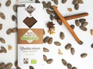 Tableta de Chocolate con Leche con Quinoa y Especias - ECO y BIO 4