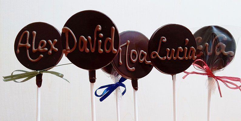 Nuestros chocolates para Bodas, Bautizos y Comuniones