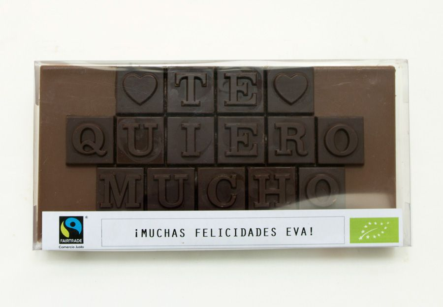 chocolate personalizado
