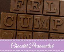 Chocolat personnalisé Chocolates Artesanos Isabel
