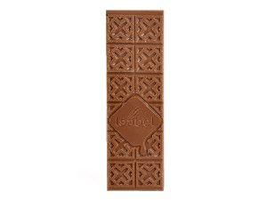 Tableta de chocolate con leche con limón efervescente (Peta Zetas)