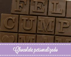 Chocolate artesano personalizado