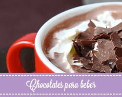 Chocolate artesano a la taza