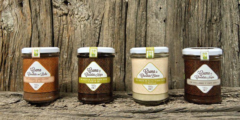 cremas de chocolate bio
